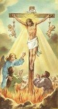 Jésus soulageant les âmes du purgatoires