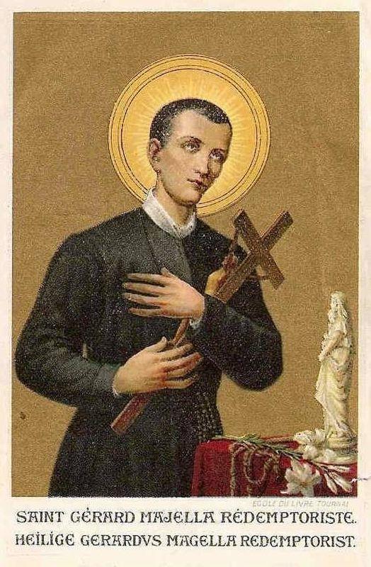 Pieux désirs du Frère Saint Gérard Majella dans Prières 44701172