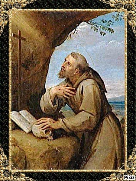 Prière pour la pas de Saint François d'Assise