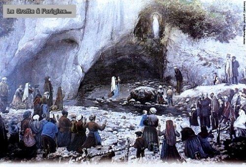 lourdesgrotteancienne1 Apparitions dans Prières