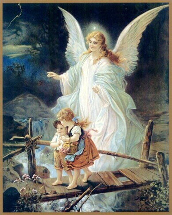 Dieu nous aime tant pourquoi le m priser - Dessin d ange gardien ...
